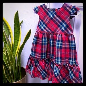 Nautica plaid dress